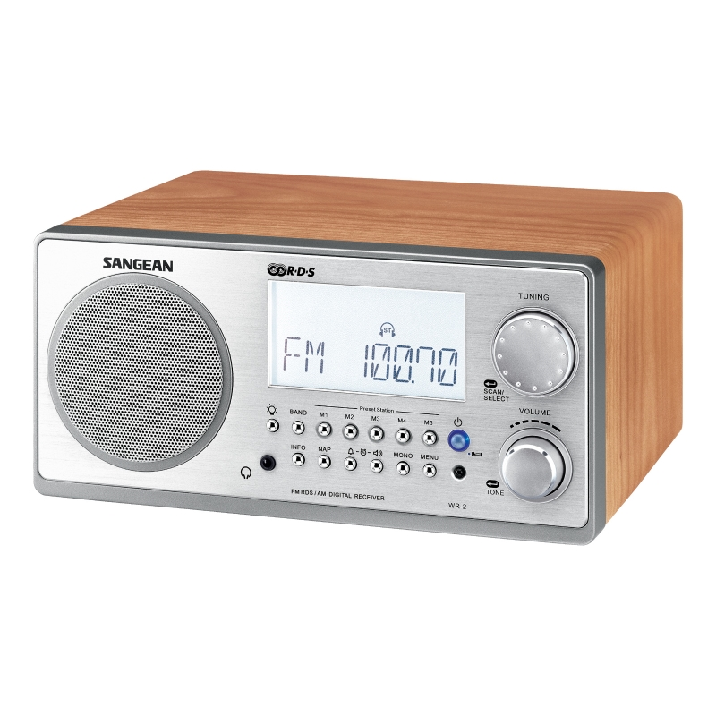 Sangean WR-2 Walnut