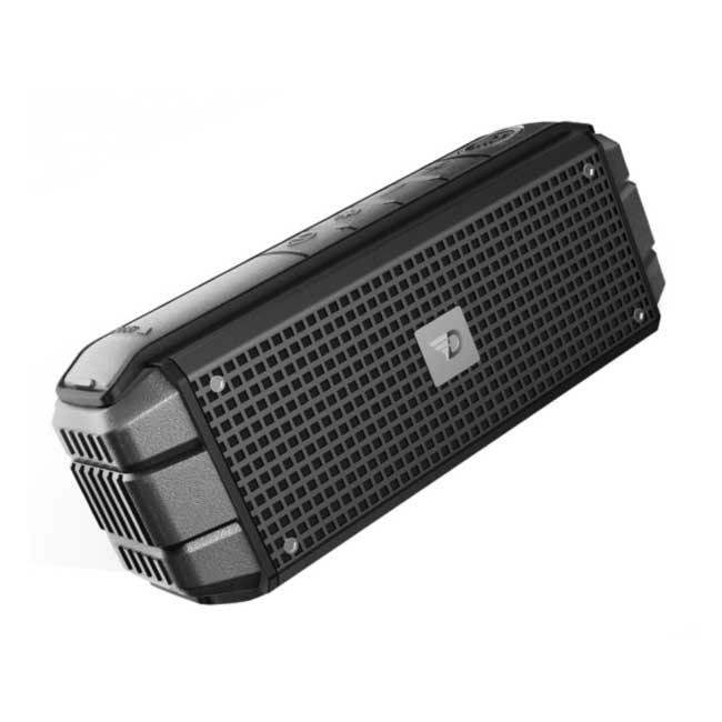 DreamWave Explorer Graphite (Bluetooth, AUX, Handsfree, NFC, 15 Вт, 6000 мАч, крепление на руль)