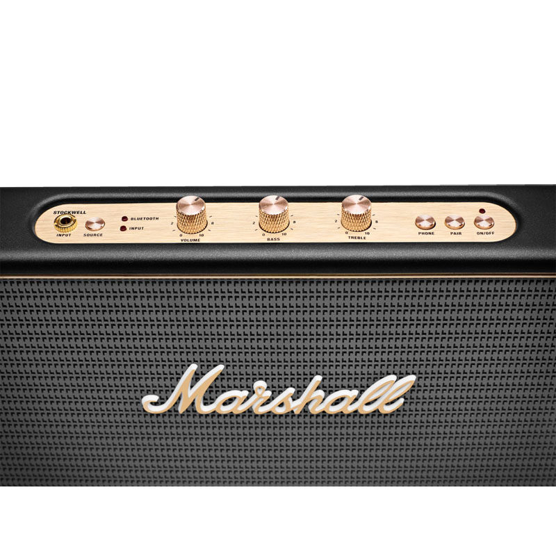 Marshall Stockwell Black (Bluetooth, AUX,  27 Вт)